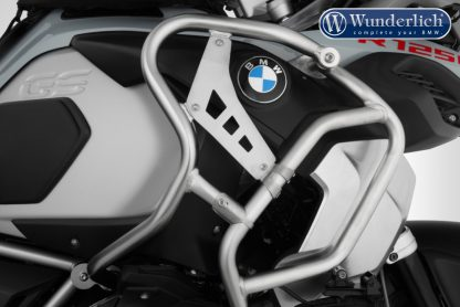 Wunderlich reinforcement bar for the tank protection bar R 1250 GS Adv – Set – stainless steel