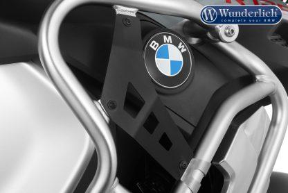 Wunderlich filler plate for reinforcement bar  R 1250 GS Adv. – Set – Black