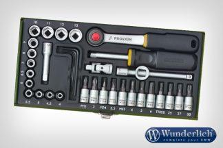 Proxxon socket set 1/4  36-part