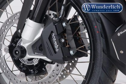 Brake caliper cover front set  black