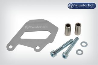 Brake caliper cover rear – silver