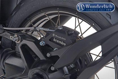 Brake caliper cover rear – black
