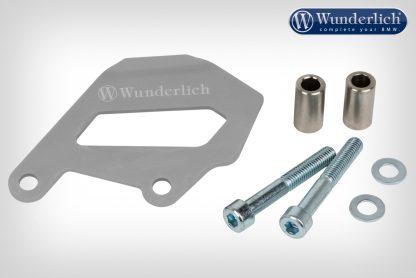 Wunderlich Brake caliper cover rear – silver
