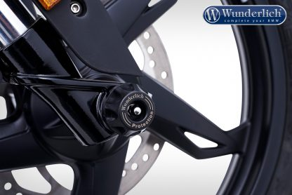 Wunderlich Crash Protectors DoubleShock – front – black