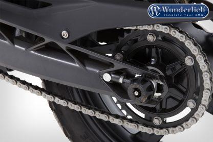Wunderlich Crash protectors G 310 – rear – black