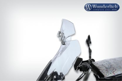 Spoiler Vario-ERGO 3D R1200RS LC silver – clear