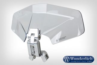 Wunderlich Vario-Ergo+ 3D screen Deflector  clear