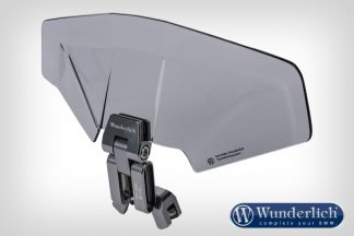 Wunderlich Vario-Ergo+ 3D+ screen Deflector  smoked grey