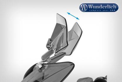 Spoiler Vario-ERGO 3D R1200RS LC titanium – smoked