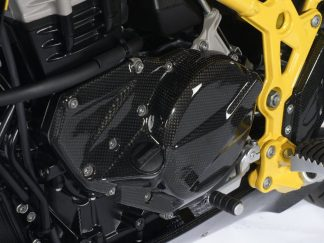 Engine cover left – carbon