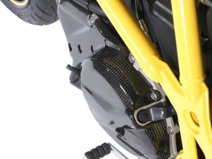 Engine cover left – carbon