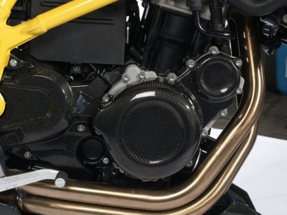 Engine cover right – carbon