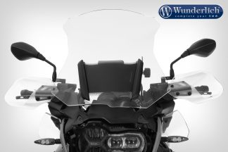 Wunderlich MARATHON windshield with windshield reinforcement – left and right – clear