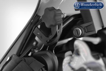 Wunderlich MARATHON windshield with windshield reinforcement – left and right – smoked grey