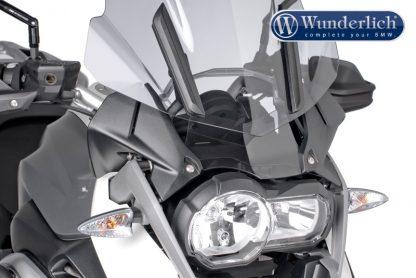 Fittings wind deflector – smoked grey
