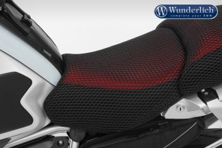 Seat cover COOL COVER – rider seat – black