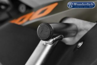 Wunderlich tank protection bar cover plugs – black