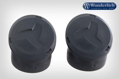 Wunderlich tank protection bar cover caps  Adventure – Set – black