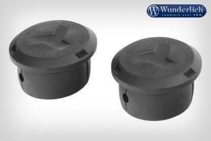 Wunderlich cover caps for case carrier – Set – black