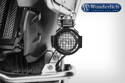 Auxiliary light protection grill – black