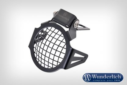 Auxiliary light protection grill ATON set  black