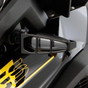 Indicator protection bar for LED multifunctional indicator – Set – black