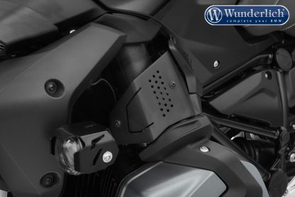 Wunderlich fuel injection system cover – left – black