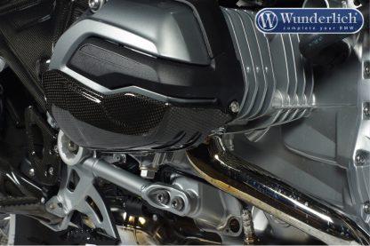"""""""Carbon Protect valve cover – left – carbon"""