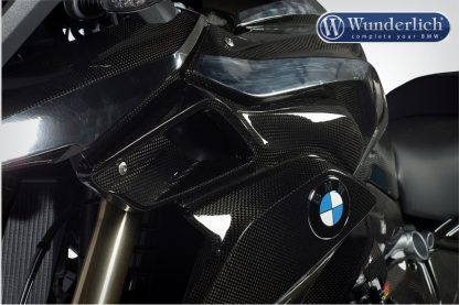 Air intake cover – left – carbon