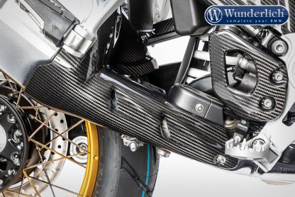 Ilmberger bottom exhaust heat shield – carbon