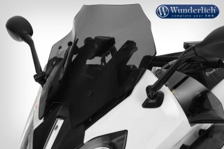 Wunderlich flowjet windshield SPORT – smoked grey