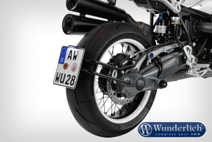 """""""SWING"""" tail section with """"DEVILS EYE"""" rear light conversion – black"""