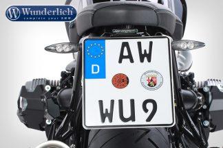 Wunderlich license plate holder SPORT (with rear light STRIPE)