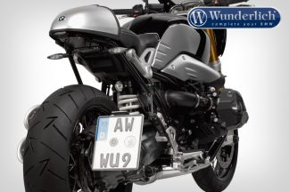 Wunderlich license plate holder LOW (with tail light conversion)