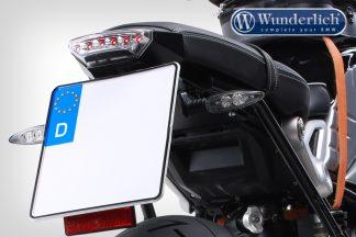 Wunderlich license plate holder SPORT with orig. rear light holder – black