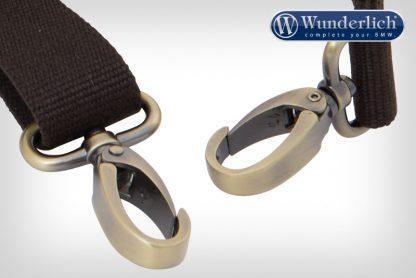 Wunderlich shoulder strap for R nineT Mammut side bag carrying strap – brown
