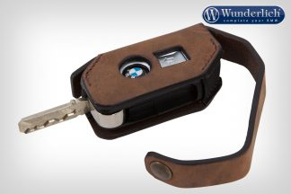 Wunderlich key pouch leather keyless ride  brown