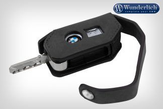 Wunderlich key pouch leather keyless ride  black