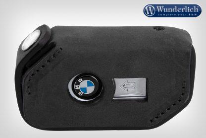 Wunderlich key pouch leather keyless ride  black