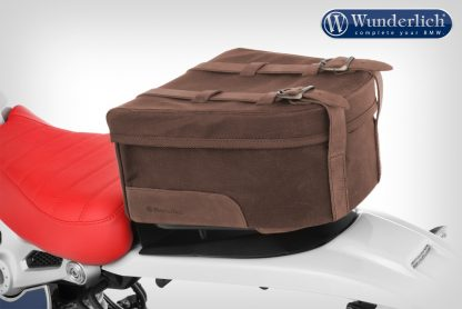 "Wunderlich ""Mammut"" saddle bag for passenger luggage carrier – brown"