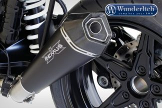 REMUS HYPERCONE to mount with sozius footpegs (EURO 4) – black
