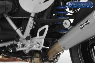 Wunderlich exhaust pipe Holder Single – black
