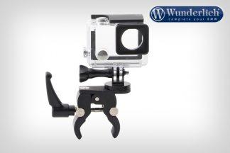 Universial camera holder for round tubes