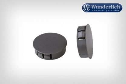 Tail fairing cover plugs – black