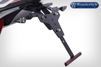 Licence plate holder for tail section SuperLight – black