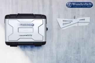 Wunderlich Luggage wall bracket system R1200 GS – silver