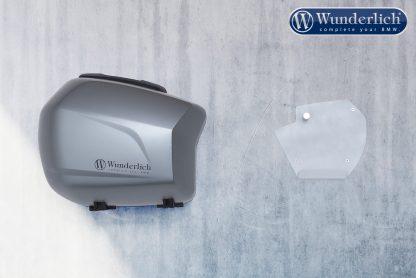 Wunderlich Luggage wall bracket system silver – silver