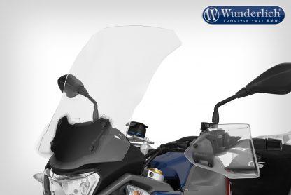 Wunderlich Windscreen ERGO – For models with original board socket – clear