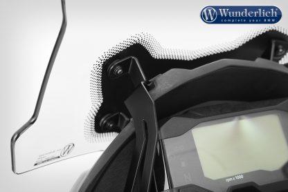 Wunderlich Windscreen ERGO – For models with original board socket – smoked grey