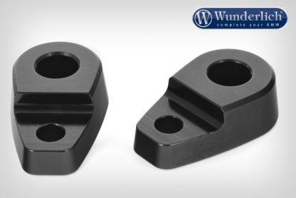 Wunderlich turn signal adaptor (set)  black